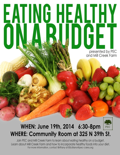 Free Workshop with People's Emergency Center and Mill Creek Urban Farm!